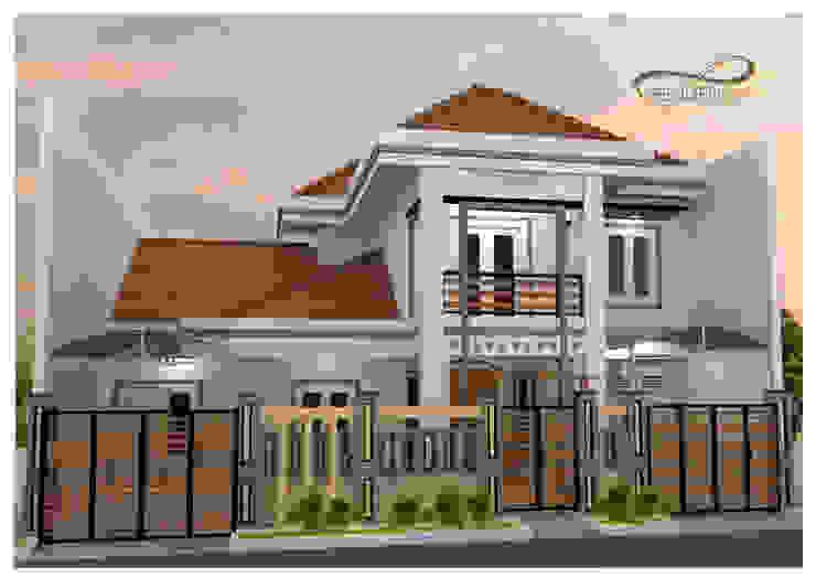 DRA HOUSE ( Deltasari ):modern  oleh Residencia, Modern