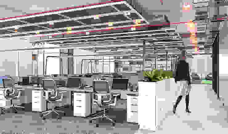 Office area Oleh PT. Mimo Interior Asia