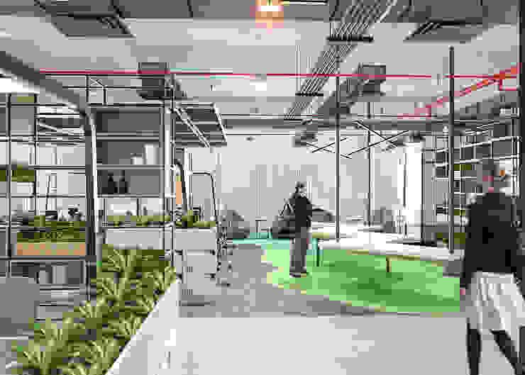 Office area 2 Oleh PT. Mimo Interior Asia