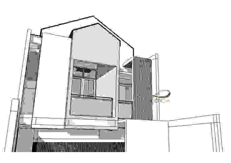 Perspektif View Fasad Lt2 Oleh Residencia