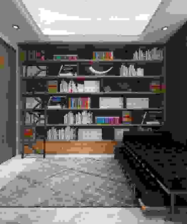 Perpustakaan dan Ruang Kerja 2 Oleh PT. Mimo Interior Asia