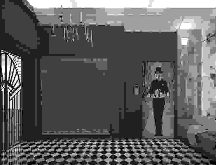 Hallway Foyer + Lift Oleh PT. Mimo Interior Asia