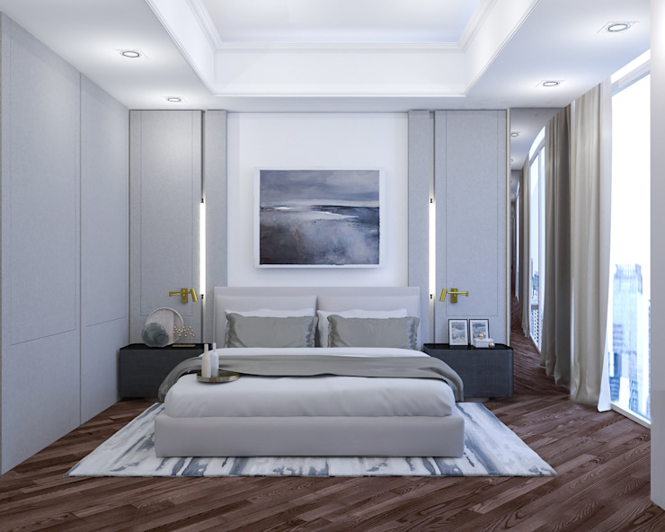 Master Bedroom Oleh PT. Mimo Interior Asia
