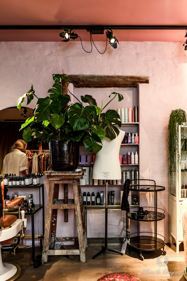 Classico krijtverf in de kleuren Old Rose en Courtly Rose Eclectische muren & vloeren van Pure & Original Eclectisch