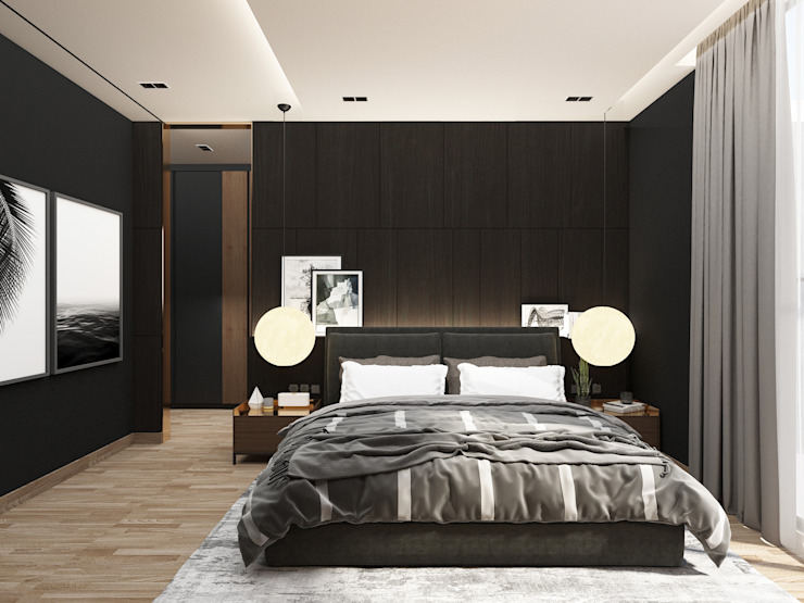 Master Bedroom Oleh PT. Mimo Interior Asia