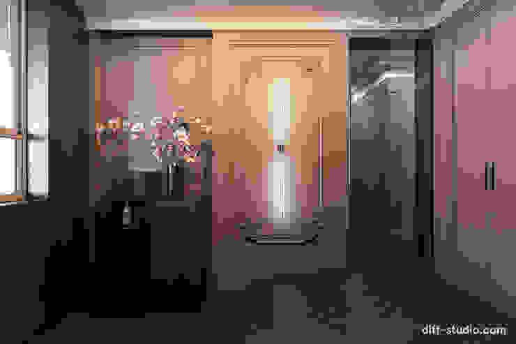 Diff.Studio 隨意取材風玄關、階梯與走廊