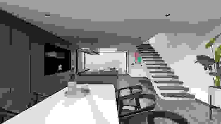 حديث  تنفيذ TW/A Architectural Group, حداثي رخام