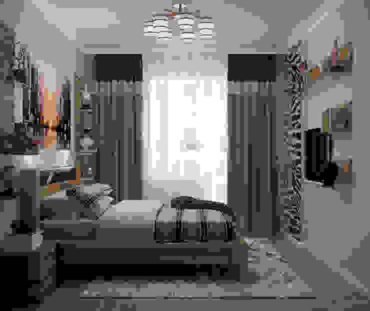Kamar Tidur Tropis Oleh Студия интерьерного дизайна happy.design Tropis