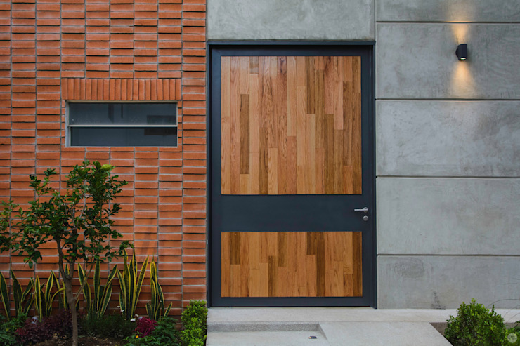 Puertas de entrada de estilo  por Arturo Santander Arquitectos,