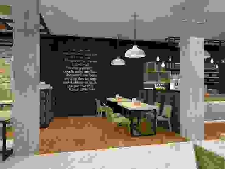 Area makan Oleh Residencia
