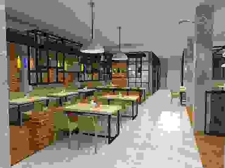 Area makan koridor Oleh Residencia