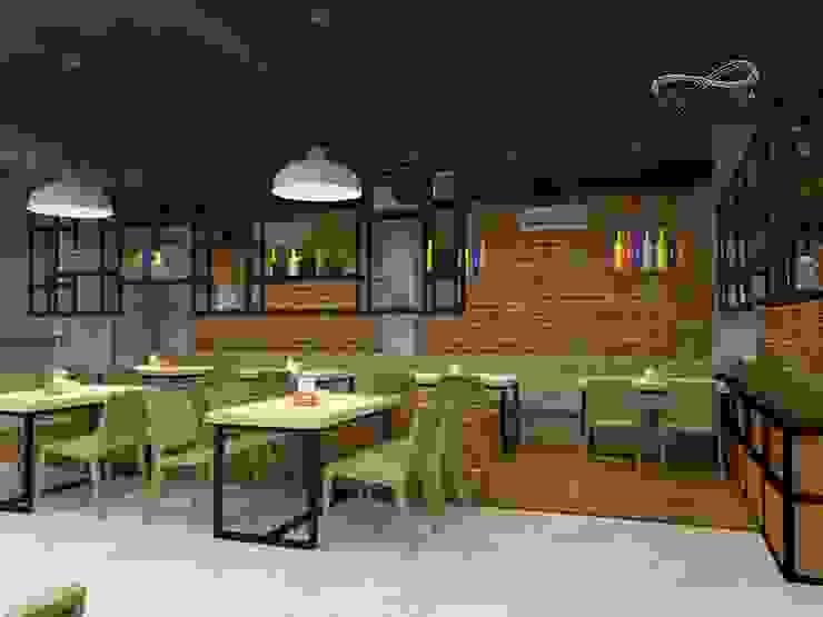 Area makan dalam Oleh Residencia