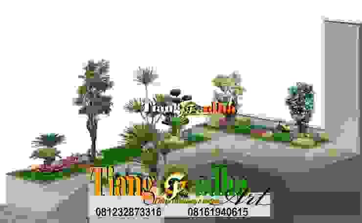 JASA DESAIN TAMAN Oleh Tukang Taman Surabaya - Tianggadha-art Tropis