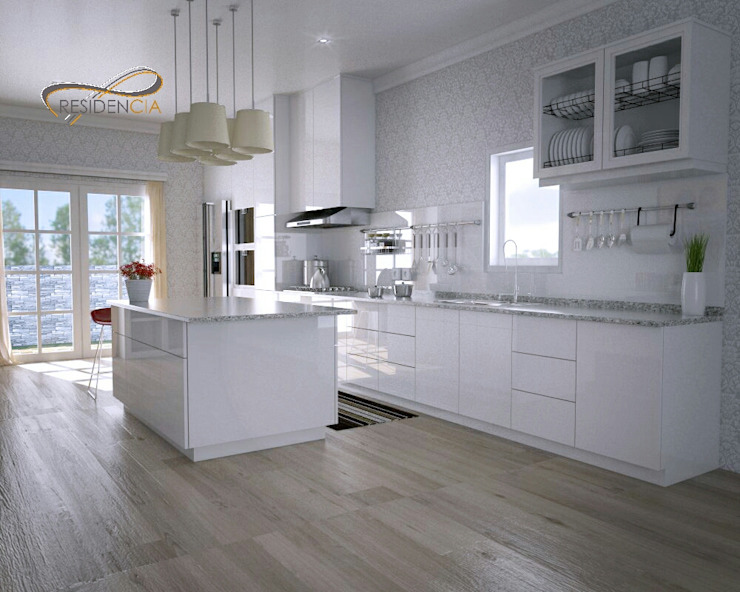 Kitchenset RF2 Oleh Residencia