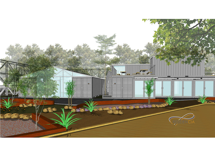 STEEL FOREST Oleh Residencia