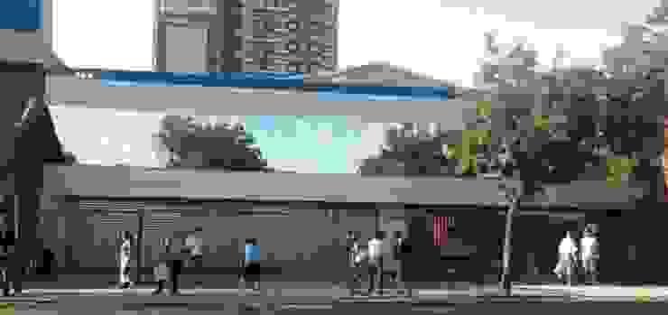 by M&C Construcciones Modern Aluminium/Zinc