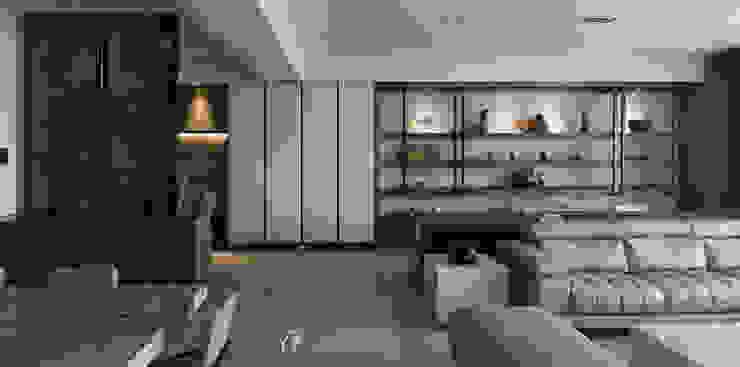 牆面展示層架 根據 元作空間設計 現代風 金屬