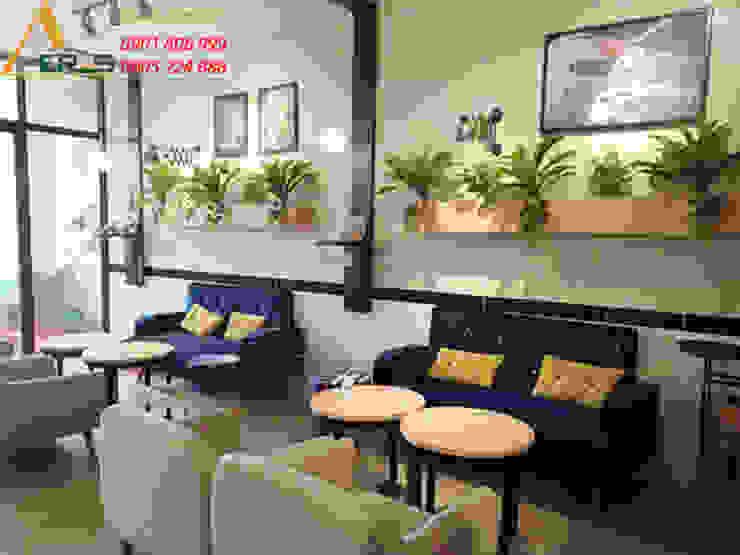 Thiet ke thi cong quan cafe Yeah Cafe - Long An bởi xuongmocso1 Công nghiệp