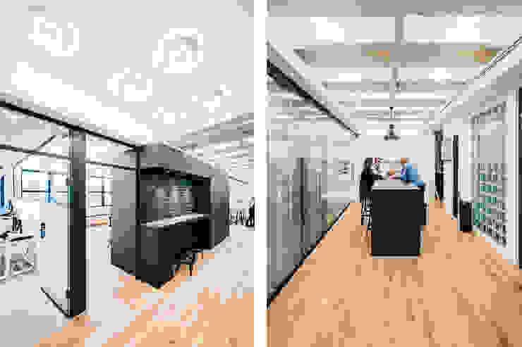 Office Frankfurt am Main Moderne Bürogebäude von ZHAC / Zweering Helmus Architektur+Consulting Modern