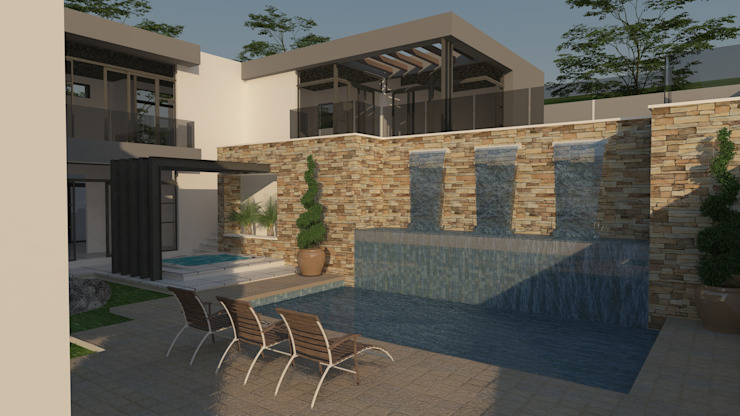 Residential Design Eye Of Africa Modern houses by Red Square Architectural Studio Modern