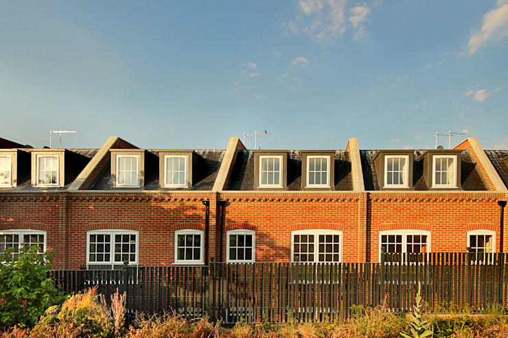 New build houses - Finchley New Images Architects Casas estilo moderno: ideas, arquitectura e imágenes