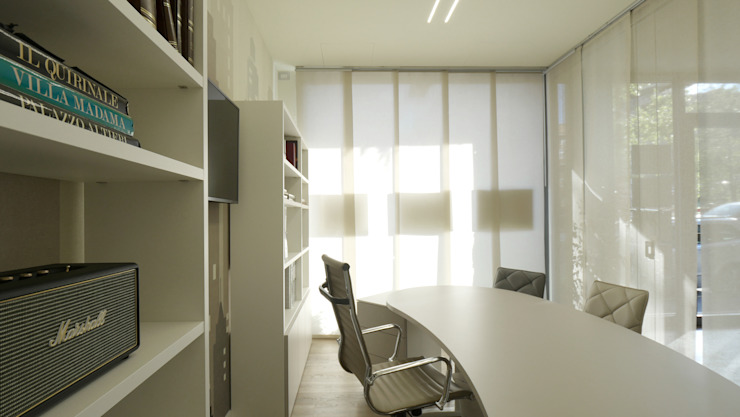 Minimalist commercial spaces by Pamela Tranquilli Minimalist