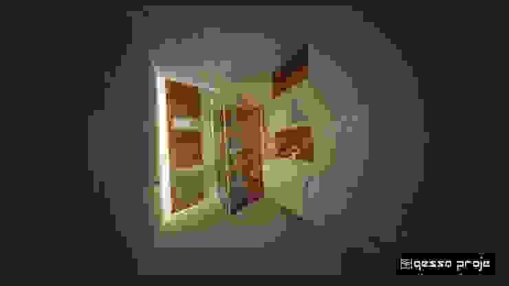 Salle de bain moderne par gessaproje Moderne Bois Effet bois