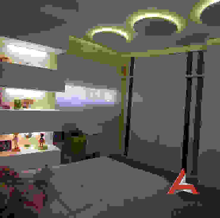 Habitación de Niña de Aida tropeano& Asociados Moderno