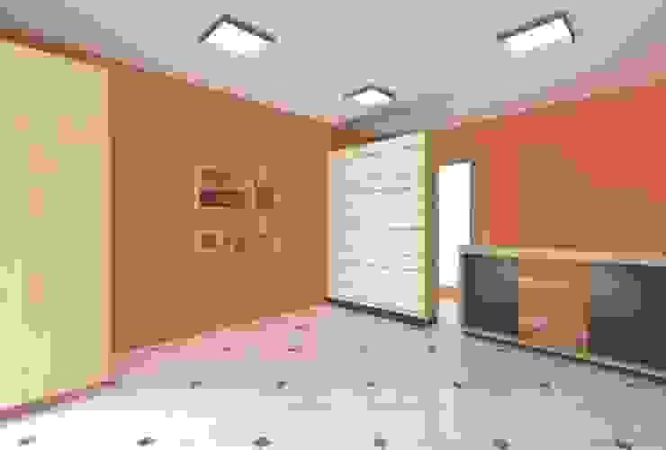 Propuesta 3D de ARDI Arquitectura y servicios Minimalista Aglomerado