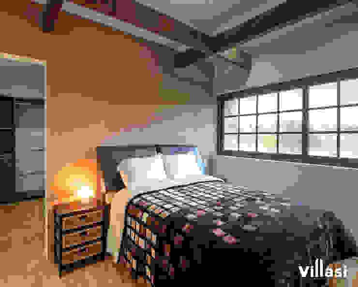 Rustic style bedroom by VillaSi Construcciones Rustic