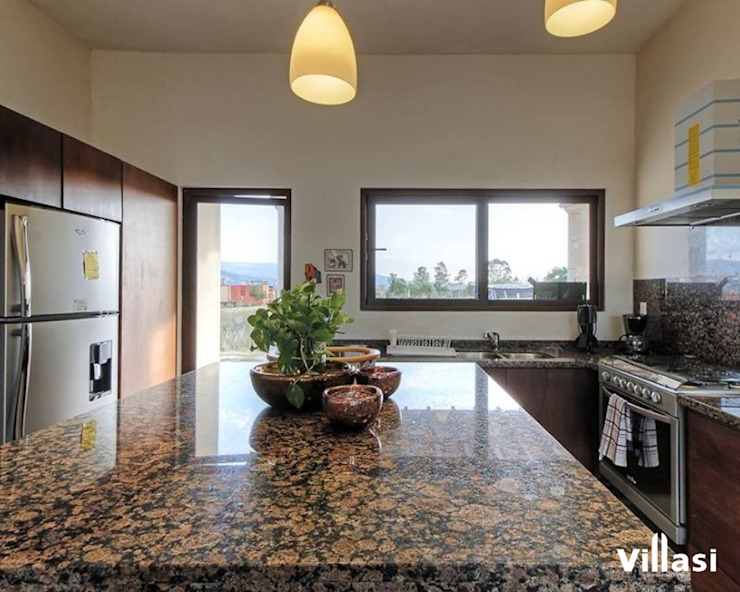 VillaSi Construcciones Built-in kitchens