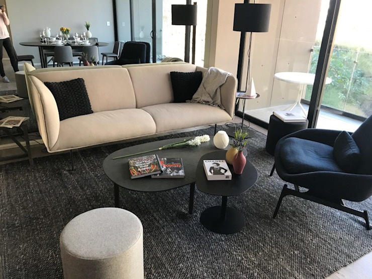 Salas de estar modernas por VillaSi Construcciones Moderno