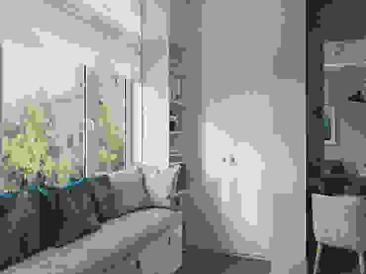 Апартаменты в Новороссийске Спальня в стиле модерн от 3D GROUP Модерн