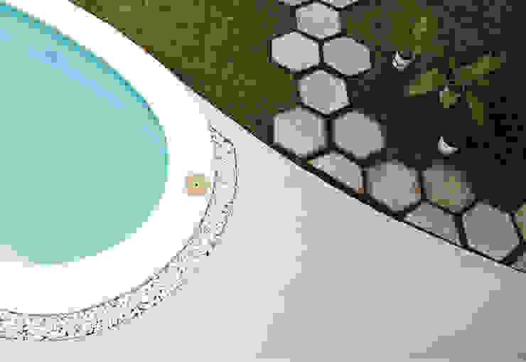 The Hexagon Villa Fornature Design Pavimentos