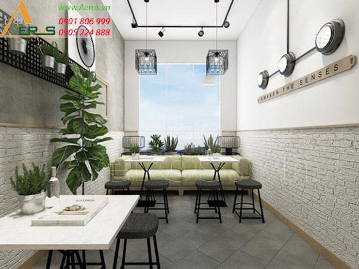 Thiet ke thi cong quan ca phe Up Cafe - Quan 5 bởi xuongmocso1 Kinh điển