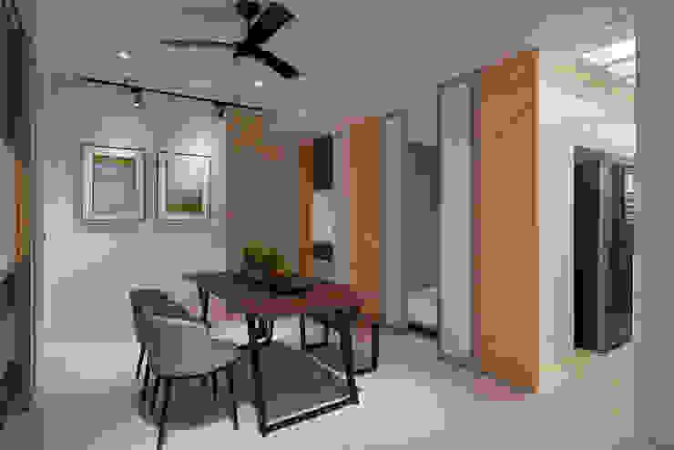 私領域隱藏門設計 趙玲室內設計 餐廳