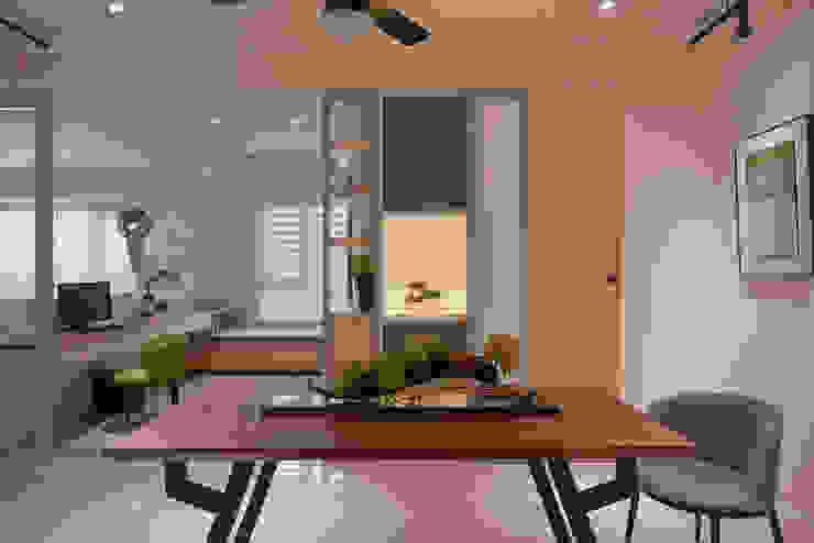 透光石展示 趙玲室內設計 餐廳