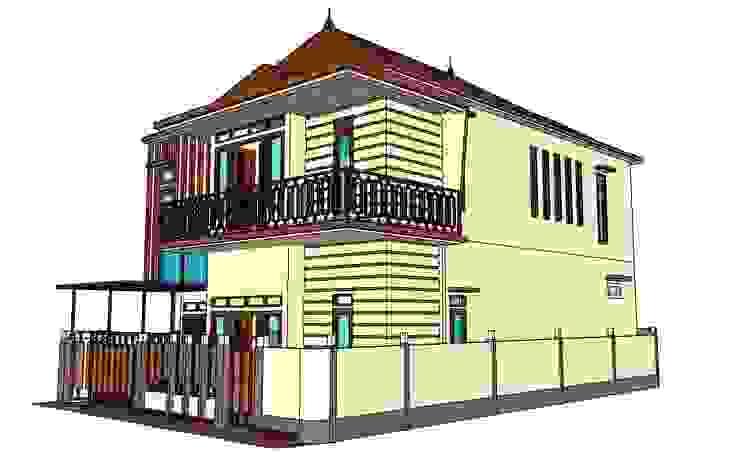 Perspektive Design Oleh MODE KARYA Minimalis Beton Bertulang