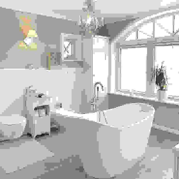 Phòng tắm phong cách đồng quê bởi Maxxwell AG Đồng quê