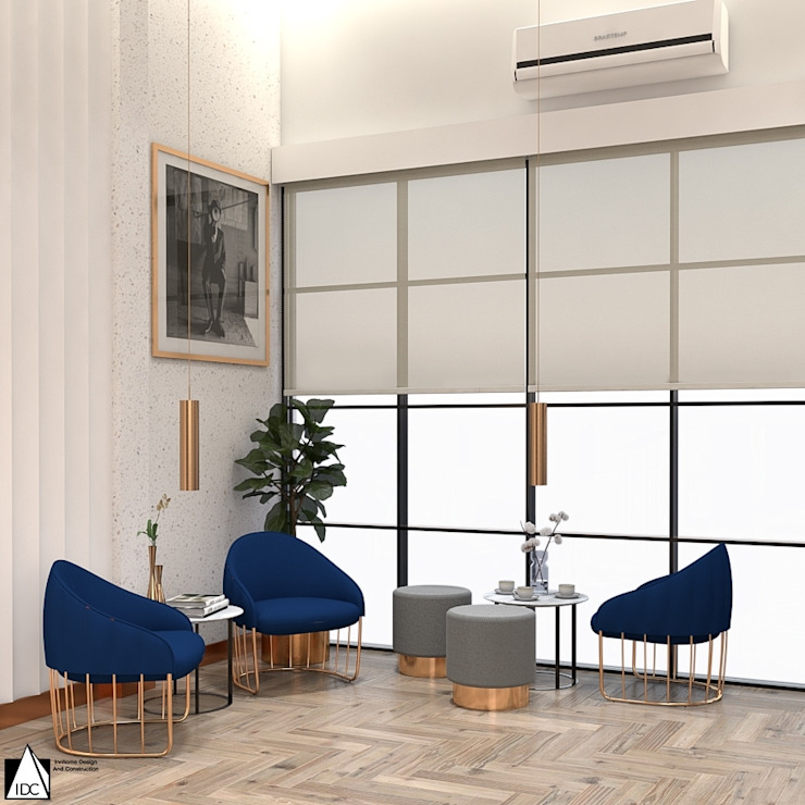 Tutor School: ผสมผสาน  โดย IDC-INNHOME DESIGN AND CONSTRUCTION, ผสมผสาน ไม้เอนจิเนียร์ Transparent