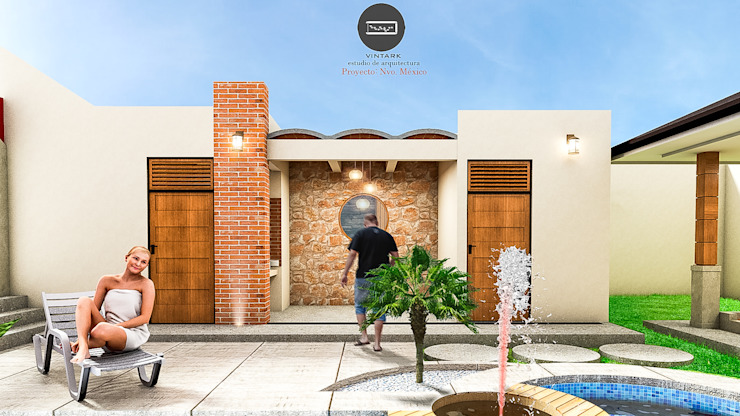 Vintark arquitectura Mediterranean style houses