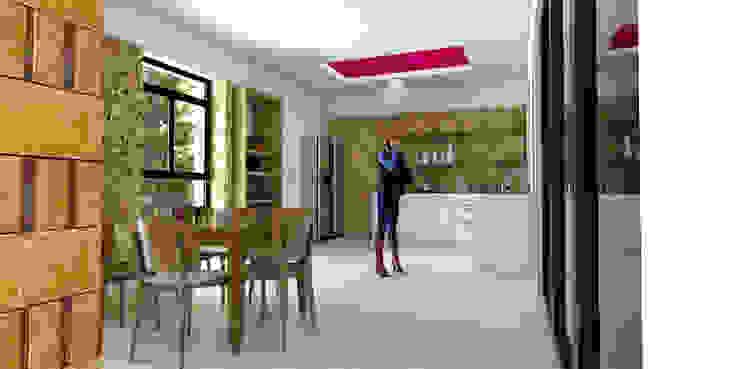 Vintark arquitectura Mediterranean style kitchen