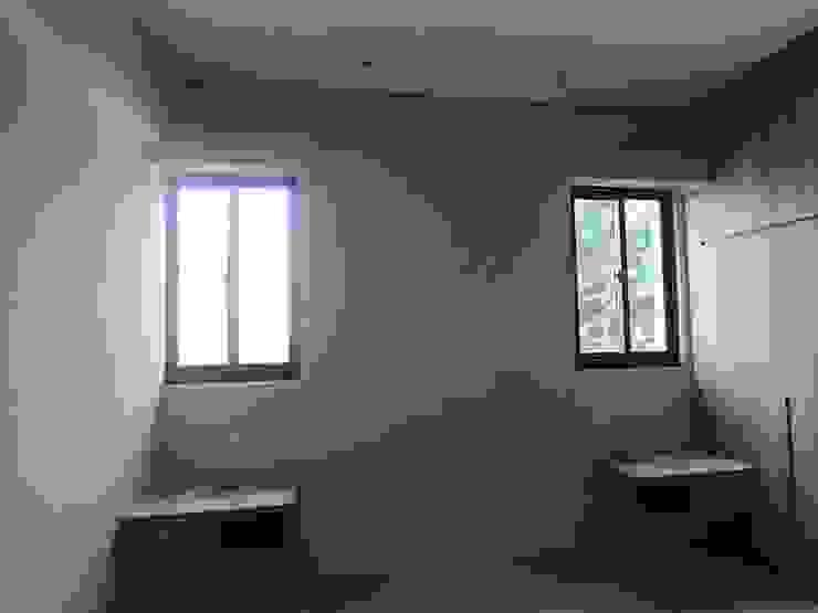 107年 西螺L公館-RC結構平房- (上集 – 施工中) 懷謙建設有限公司 窗戶與門窗戶