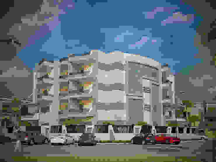 عمارة سكنية من 4walls حداثي