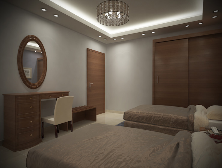 modern  by Raqy Designers & contractors, Modern Wood Wood effect