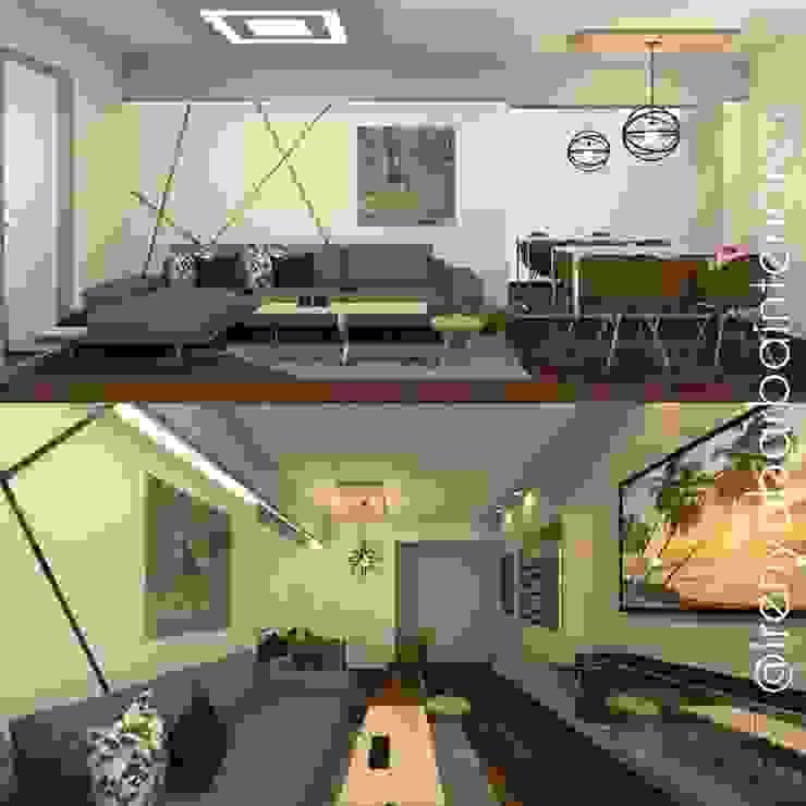 Diseño Residencial de Irenya Barba - Diseño de Interiores Minimalista