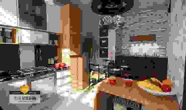 Cocina de ROQA.7 ARQUITECTURA Y PAISAJE Moderno