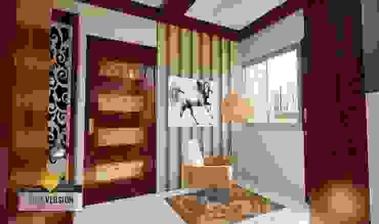 Recibidor Salas modernas de ROQA.7 ARQUITECTURA Y PAISAJE Moderno