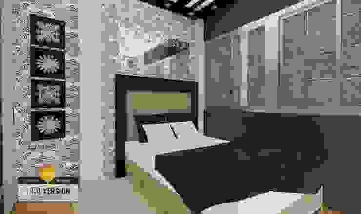 Dormitorio de ROQA.7 ARQUITECTURA Y PAISAJE Moderno
