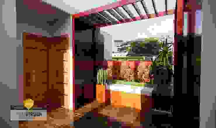 Terraza Balcones y terrazas modernos de ROQA.7 ARQUITECTURA Y PAISAJE Moderno